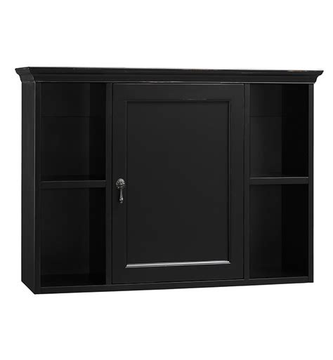 ronbow   traditional bathroom wall cabinet  antique black