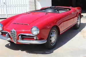 1965 Alfa Romeo Giulia Spider 1965 Alfa Romeo Giulia 1600 101 Spider For Sale Photos