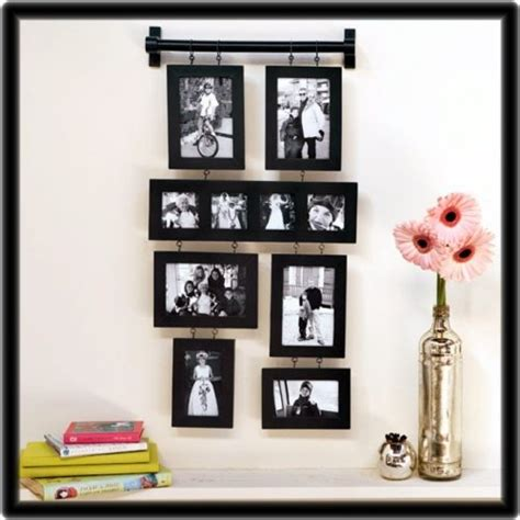 family wall collage picture frames black family wall hanging photo collage