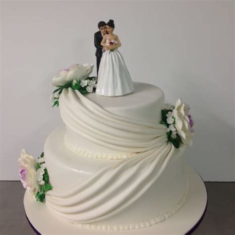 2 Tier Wedding Cake Ideas Pictures to Pin on Pinterest