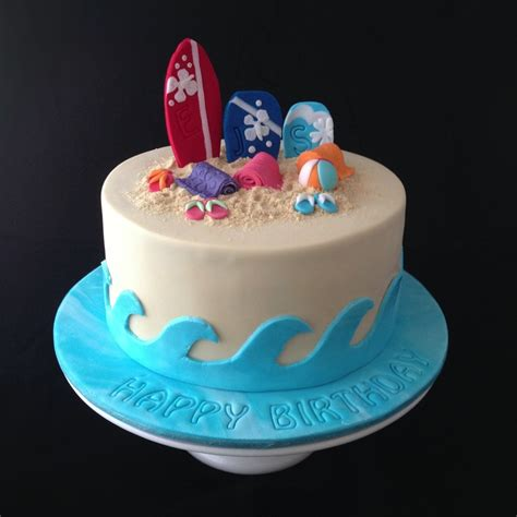beach themed birthday cakes a beach themed cake for three beach babe sisters that all