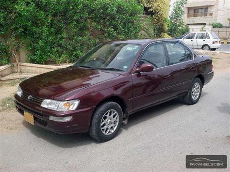 2000 Toyota Corolla For Sale Corolla For Sale In Karachi Pakwheels