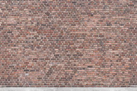 red brick wall wallpaper mural  perswall
