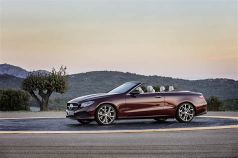 convertible mercedes red 2018 mercedes benz e class convertible looks better than