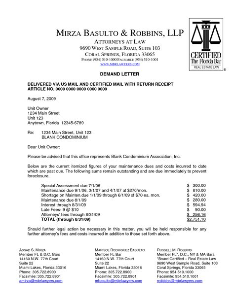 Sample demand letter to insurance company - insurance