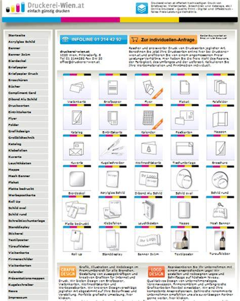 Visitenkarten Drucken Wien by Suchmaschinenoptimierung Www Textilwerbung At