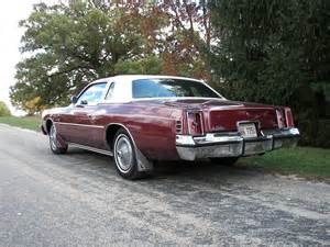 Dodge Cordoba All American Classic Cars 1975 Chrysler Cordoba 2 Door Coupe