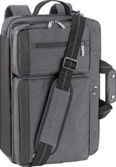 convertible laptop briefcase backpack gray ubn310 10 best buy
