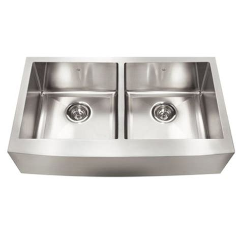 Stainless Steel Apron Front Kitchen Sinks Kindred Qdfs31b 20 Apron Front Farmhouse Stainless Steel Kitchen Sink Lowe S Canada