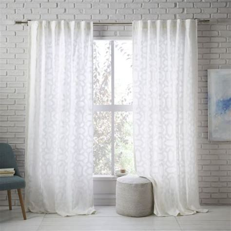 west elm sheer curtains 10 best sheer curtains 2018 pretty sheer curtain panels