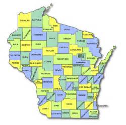 state map by county image gallery wi counties