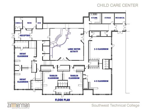 preschool floor plans facility sketch floor plan family child care home