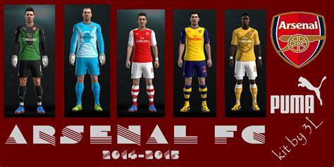 arsenal kit pes 2013 pes 2013 pc uniformes 2014 2015 arsenal brazilians w