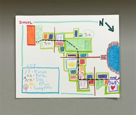to school map craft crayola