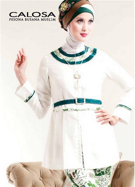 contoh gambar model baju muslim brokat untuk wanita muslimah
