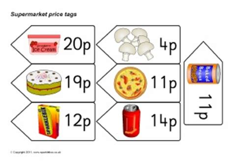 printable price tags uk eyfs early years supermarket roleplay posters and