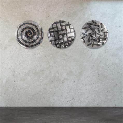 titan lighting 39 in x 39 in quot discus quot metal wall tn