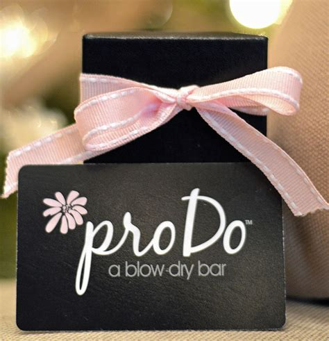 Dry Bar Gift Card - pro do gift cards prodo