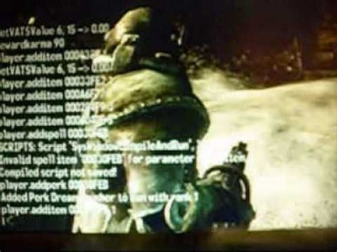 fallout 3 console commands fallout 3 pc console command guide part 1