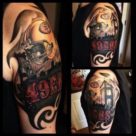sf tattoo sf 49ers mens tattoos