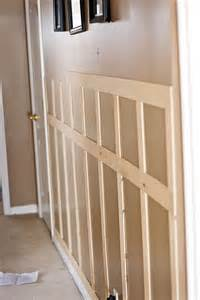 Shaker Furniture To Fit faux wainscoting this is the one we want tutorials