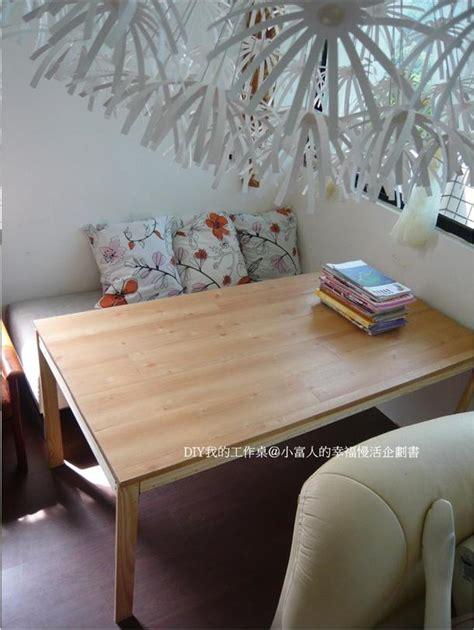 Fliesen Gold Lackieren by Sharer 分享 分享文章 Diy平價改造專屬的工作桌 松木可調整五層架