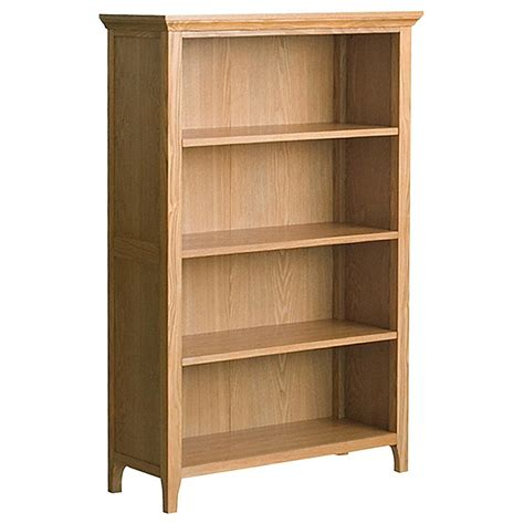style and functionality with oak bookcases small room