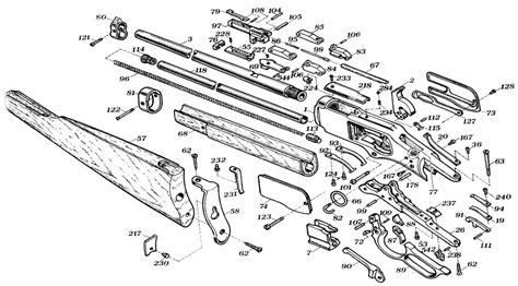 winchester model 94 diagram winchester model 94 schematic get free image about