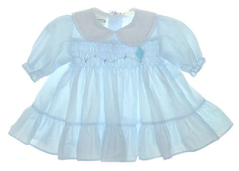 Polly flinders blue smocked baby dress with embroidered kite blue smocked polly flinders dress