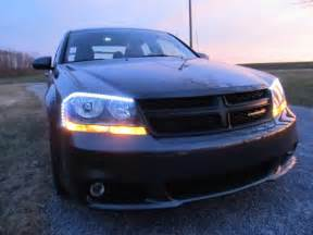 Dodge Avenger Lights Led Headlight Strips With Custom Circuit Drivers 2014