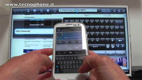 Tv Samsung Di Hartono samsung smart tv e galaxy s iii prova di allshare