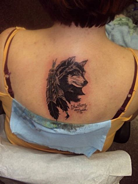 wolf feather tattoo designs 20 best wolf designs with meanings styles at