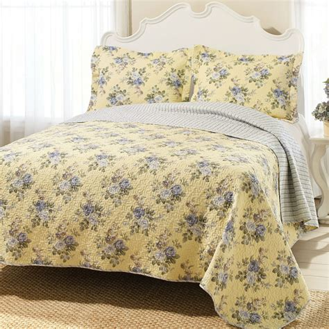 yellow coverlet king king yellow blue floral lightweight coverlet set