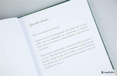 libro querido abuelo entre tu el libro personalizable para abuelos y nietos en regalador com