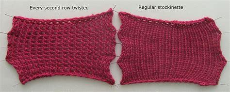 purl stitch vs knit stitch nef s guide on twisted stitches knitting