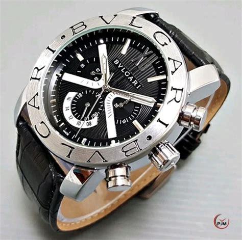 jual jam tangan pria automatic bvlgari  lapak brenaita
