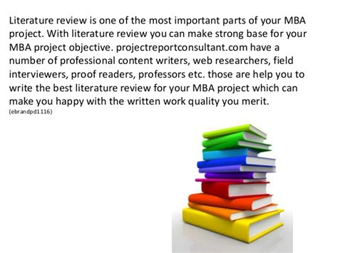 Mba Review Of Literature by Get The Best Literature Review Writing Services For Mba