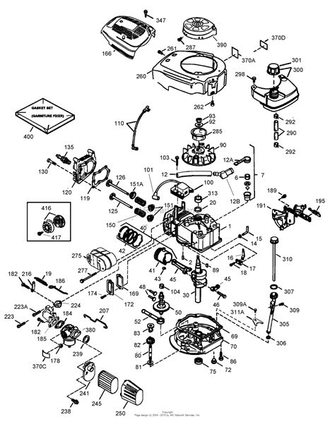 diagram of a lawn mower engine lawn boy 10684 insight lawn mower 2005 sn 250000001