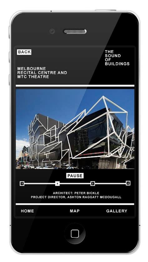 app design melbourne melbourne buildings smartphone guide launched