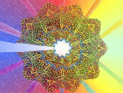 vertical section of human dna spiritual artwork colour vibration dna cross section