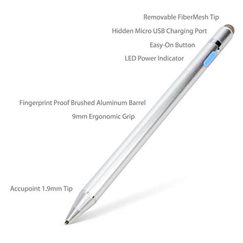 Pen Standard Tecno stylus pen boxwave accupoint active stylus electronic stylus with ultra tip for