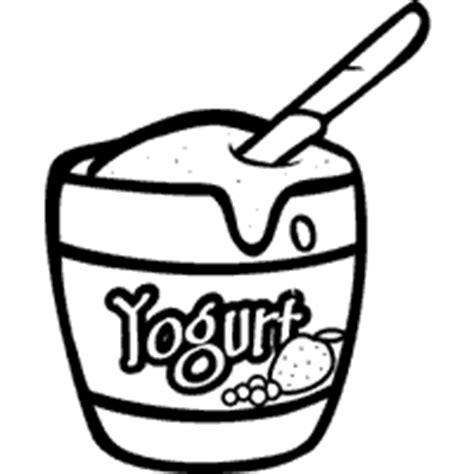 Coloring Page Yogurt by Yogurt 187 Coloring Pages 187 Surfnetkids