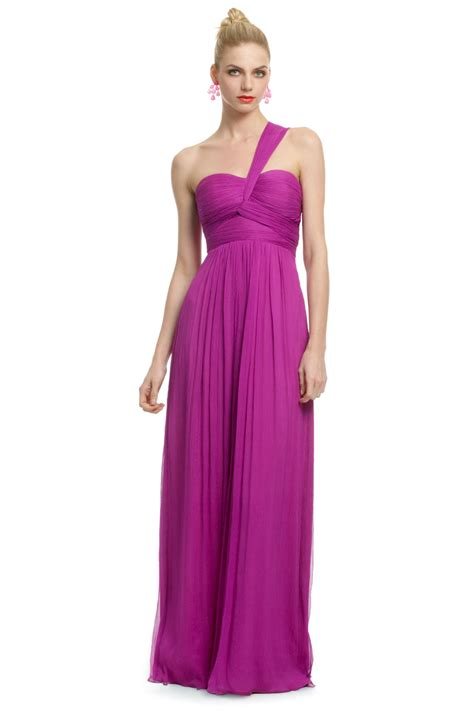 Longdress Magenta magenta orchid gown by carlos miele for 70 rent the runway
