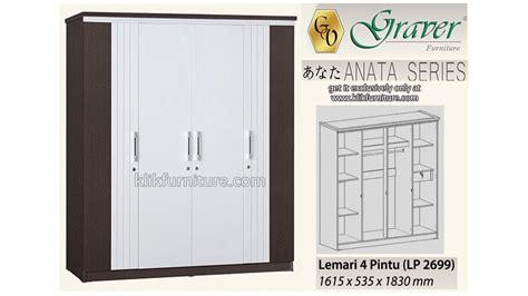 Lemari Pakaian Minimalis 2pintu Sucitra Lp 1522 lemari pakaian 4 pintu lp 2699 anata graver