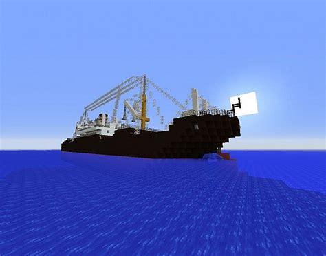 minecraft cargo boat cargo boat minecraft project