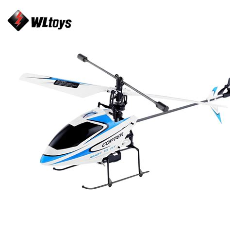 Drone Remote original wltoys v911 rc helicopter 2 4g 4ch drone