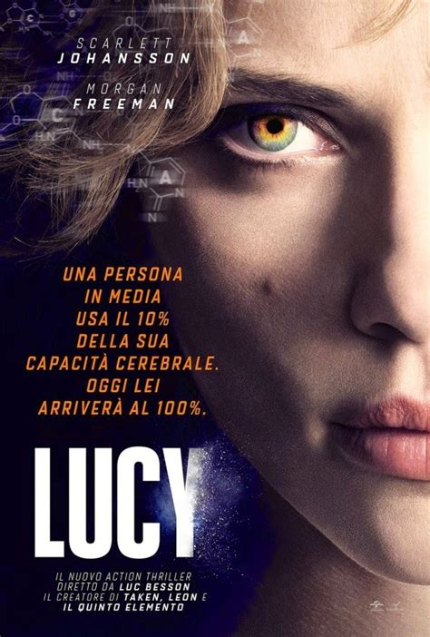 Lucy Film Poster | poster of luc besson s lucy teaser trailer