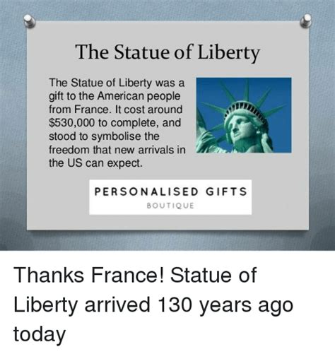 was the statue of liberty a gift from the people of france the statue of liberty the statue of liberty was a gift to