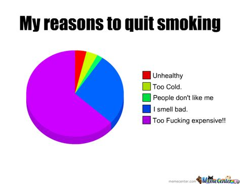 Quit Smoking Meme - my reasons to quit smoking by ridge meme center