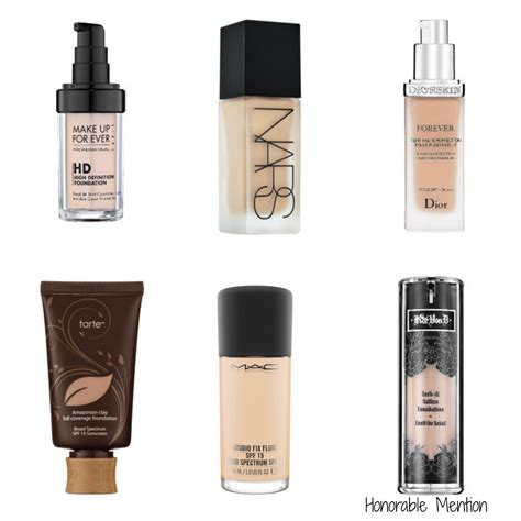 My Top 5 Foundations by Top 5 Foundations In 2015 A Beautiful Whim